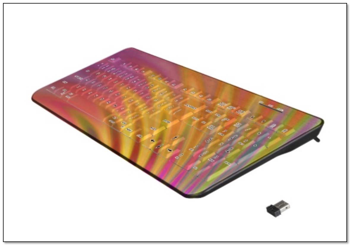 A keyboard with a gingezel abstract at Zazzle.